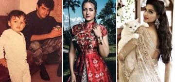 Some unseen photos of famous star kids Sara Ali Khan, Arjun, Sonam among others