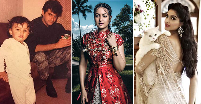 Some unseen photos of famous star kids Sara Ali Khan, Arjun, Sonam among others