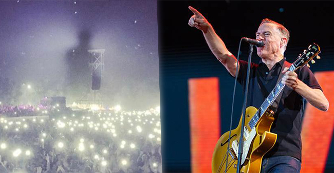 Bryan Adam's Dusty Picture From New Delhi's Concert Left Everyone Intimidated