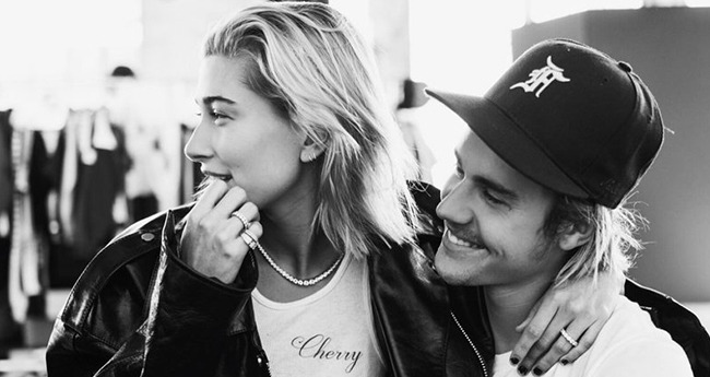 Justin Bieber courteously introduced Hailey Baldwin as his WIFE, fans are going crazy