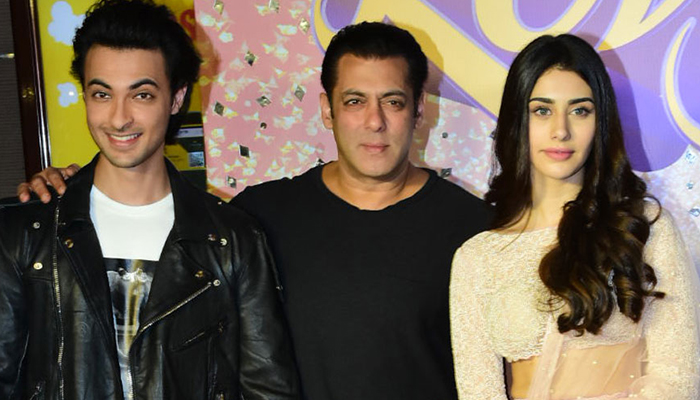 Aayush Sharma tells how his family reacted when gave him the news about bagging the film