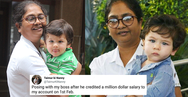 Funny memes on Taimur's nanny are just too hilarious