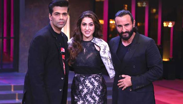Koffee With Karan 6: KJo sips the first cup of koffee with Saif and Sara over some amazing coversation