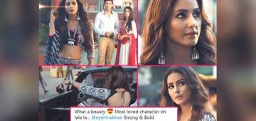 Tweeps Are All Happy After Seeing Promo Of Kasautii Featuring Hina Khan AKA Komolika
