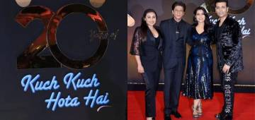 20 Years Of Kuch Kuch Hota Hai: SRK, Kajol, Rani And Karan Celebrated It In Style