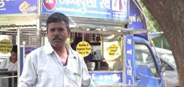 Rajendra Joshi hailing from Palanpur offers meals at just Rs 2 to the needy