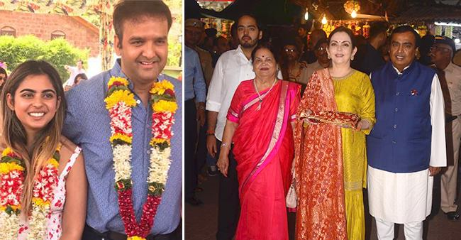 Ambanis Took Blessings At Siddhivinayak Temple And Offer