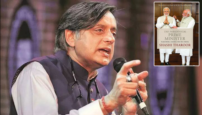 Shashi Tharoor's new book on PM Modi puzzles everyone on Twitter