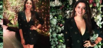 BB 12 Contestant Nehha Pendse looks stunning in her black-buttoned blazer