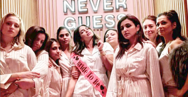 The Chopra sisters have a gala time at Priyanka's bachelorette and pyjama party in Italy