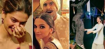 Soon To Be Bride, Deepika Padukone Got Teary Eyed At Her Sangeet Ceremoy While Ranveer Comforted Her