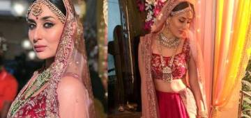 Kareena In An Alluring Bridal Avatar Can Make Saif Definitely To Re-Marry Her