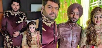 Kapil Sharma And Ginni Chatrath Look regal At Their Wedding Reception In Amritsar