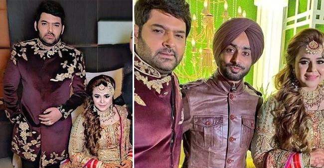 Kapil Sharma And Ginni Chatrath Look regal At Their Wedding Reception In Amritsar