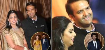 The Ambanis Host A Star-Studded Reception Bash For Newlyweds Isha And Anand
