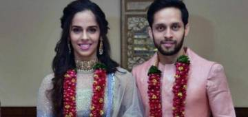 Saina Nehwal Ties The Knot With Parupalli Kashyap In A Private Wedding, First Pics Out