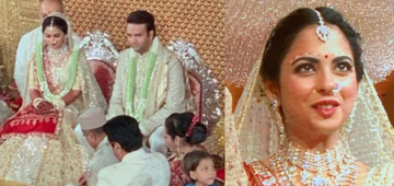 Isha Looks Like A Million Bucks, First Snaps Of Isha-Anand's Big Fat Wedding Out