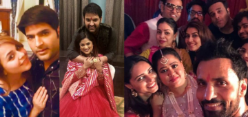 Kapil-Ginni Have A Gala Time At Their Sangeet, Popular TV Stars Seen At The Celebrations