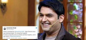 Kapil Sharma Made A Grand Comeback With The Kapil Sharma Show, Tweeps Are Delighted