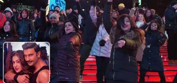 Aankh Marey Becomes A Trend In NYC's Times Square, Bollywood Fans Groove On Ranveer's Hit Track