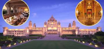 Interesting facts about Nick-Priyanka's Heritage Wedding Venue Taj Umaid Bhawan Palace