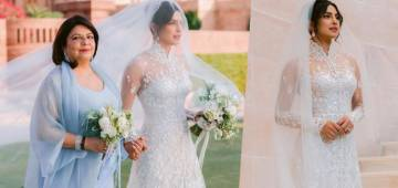 Priyanka Chopra's WOW Reaction After Looking Herself In A Complete Bridal Look For The First Time