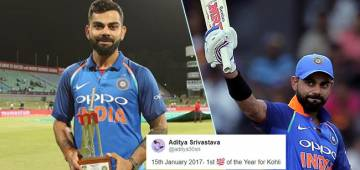 Netizens are calling 15th January 'Virat Kohli Day', and the reason is pretty obvious