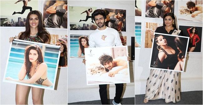 Vidya Balan's Ooh Lala Look While  Kriti Sanon's Glamorous Avtar in Daboo's 2019 Calendar will definitely give you Goosebumps