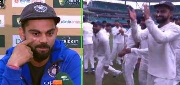 Virat's naagin dance cannot be missed after India's win at first ever test series in Australia