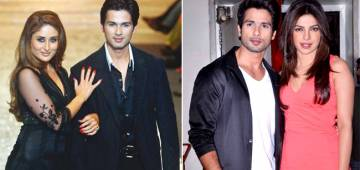 Shahid Kapoor Makes Some Surprising Revelation On His Former GFs Priyanka And Kareena