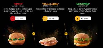 McDonald's new app gives you the choice suggest a new menu to them, don't miss to vote