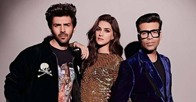 The Three K's, Karan, Kartik And Kriti Have A Gala Time On Koffee With Karan 6, Revealed Interesting Facts