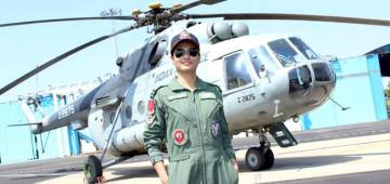 Flight Lieutenant Hina Jaiswal Scripts History by Becoming The First Indian Woman Flight Engineer In IAF