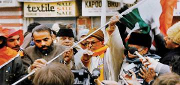 Narendra Modi Unfurled Tricolor Indian Flag at Lal Chowk in 1992