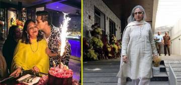 Karan Johar throws birthday bash for Hiroo Johar's 76th Birthday; Jaya Bachchan, Sharmila Tagore, Salma Khan in attendance