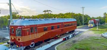 The world's first fully solar train in Australia is all set to run on the way of Byron Bay town