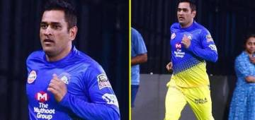 IPL 2019: MS Dhoni Plays 'Hide & Seek' with his Fan during 'CSK Practice Session'