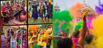 Take a look at the Best Places To Celebrate The Festival Of Colors In India