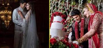 Sayyeshaa, The Grandniece of Saira Banu Wedding Pics are Regal delight to our eyes, scroll inside