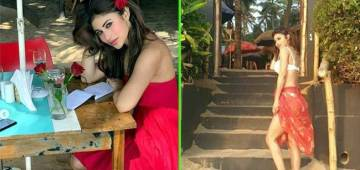 Mouni Roy Shares Her Gorgeous Pictures on Instagram from Vacation
