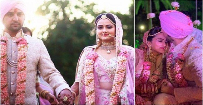 Another couple from small screen industry Puru and Roshni tied knots, pictures inside