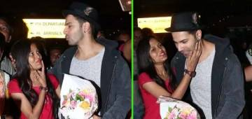 Female admirer asks Dishoom star Varun for a kiss, what happens next – view pics