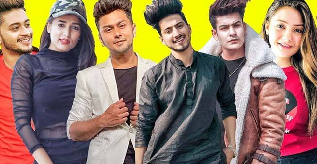 Top 10 tik tok stars in India 2019 | Laughing Colours