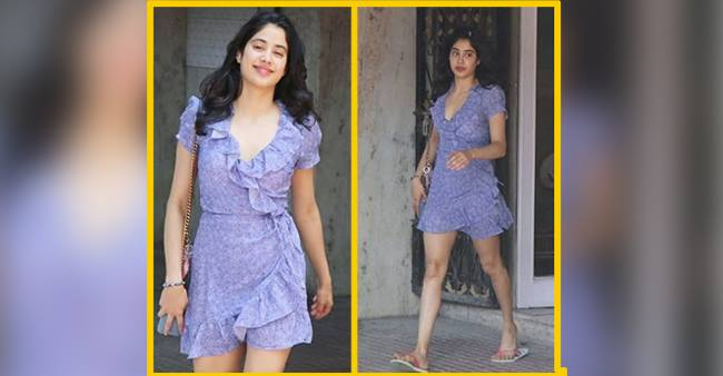 The new look of Janhvi Kapoor for the brunch will make you follow her dressing sense!! Look these pictures