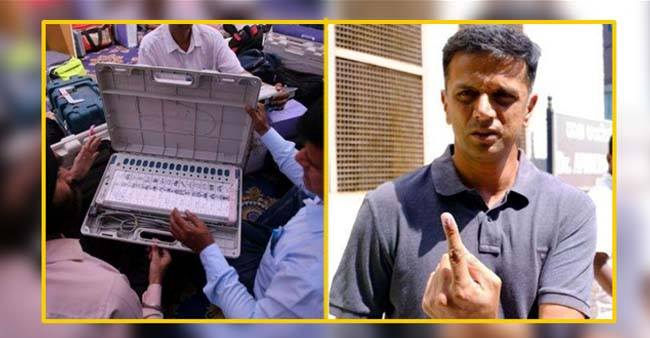 Name Of Election Commission's Brand Ambassador Rahul Dravid Is Not In The Voter List
