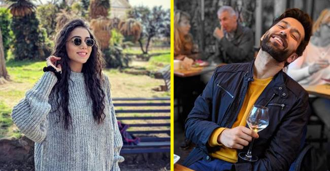 Nakuul Mehta and his life partner Jankee Parekh Having quality time of their life in Italy! Pics inside.