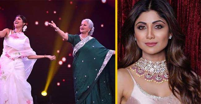 This amazing dance performed by Waheeda Rehman and Shilpa Shetty on Super Dancer 3 will make you go wow!!