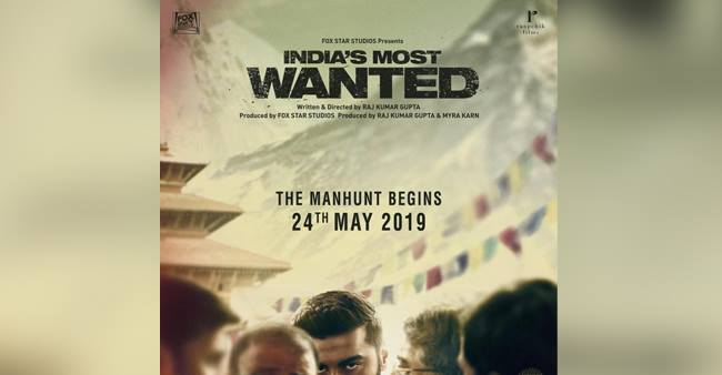 Here Is The First Look OfIndia's Most Wanted Starring Arjun Kapoor