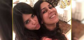 Sakshi Tanwar sharing parenting tips with Ekta Kapoor! See her tips here!!