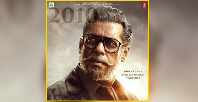 """This """"Bharat"""" movie poster will put you in curiosity! Salman Khan going grey for the very first time"""